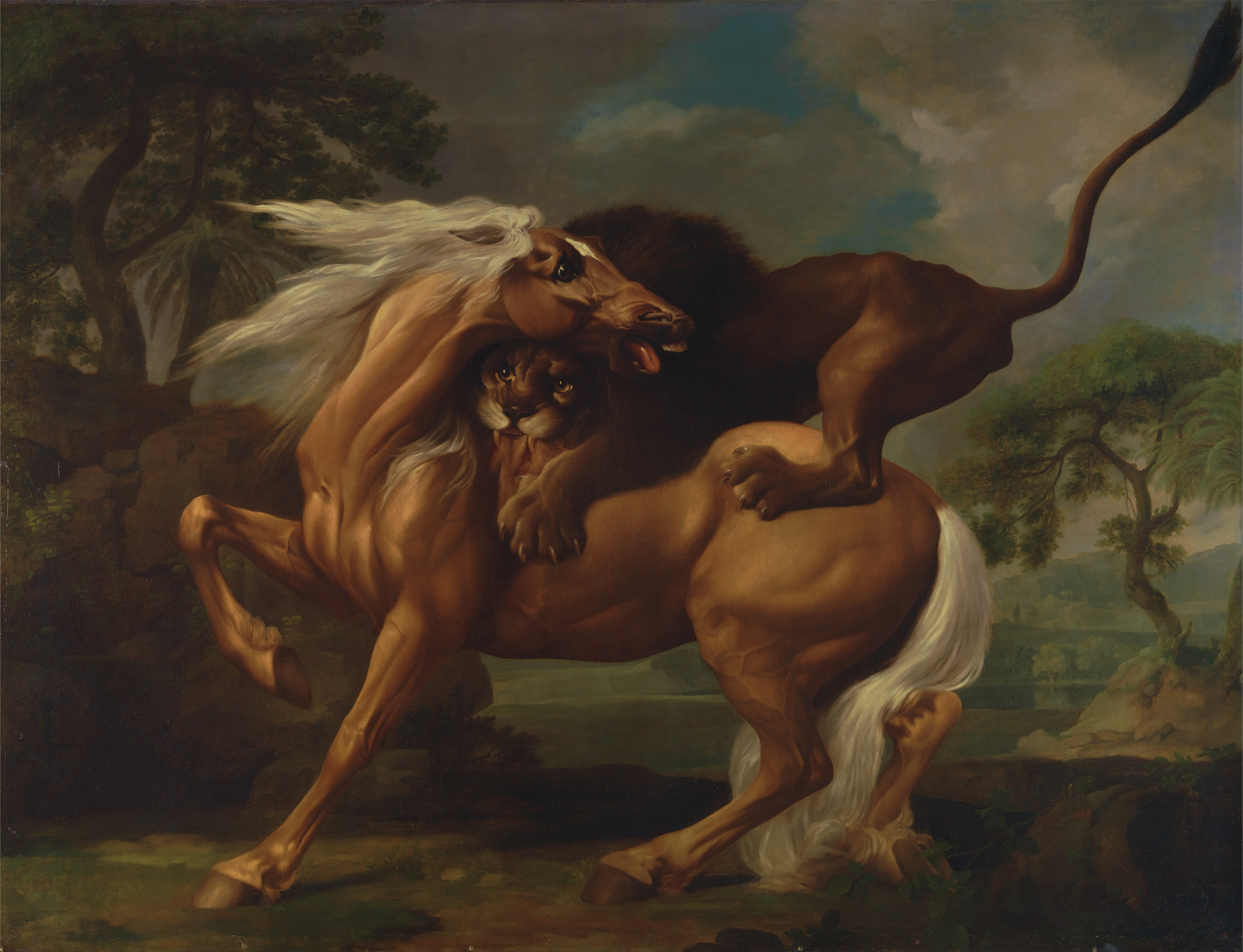 George_Stubbs_-_A_Lion_Attacking_a_Horse_-_Google_Art_Project